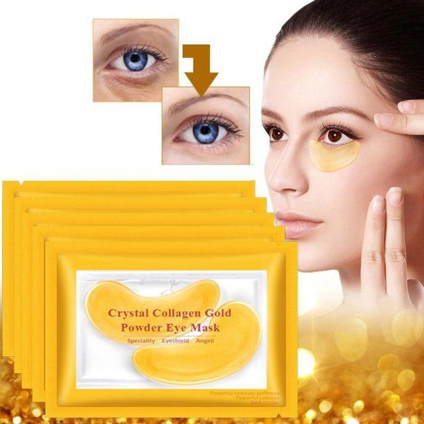 Maca de ochi cu colagen - Crystal Collagen Gold Mask