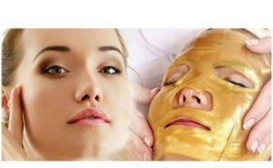 Masca de fata cu colagen - Gold Facial Mask