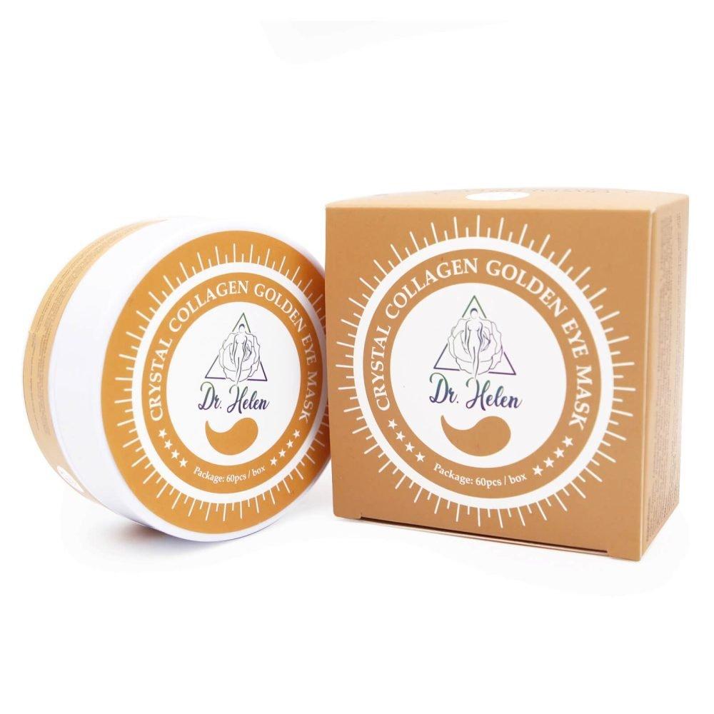 Set Masti pentru Ochi cu Colagen si Aur Pur de 24K, 60 buc